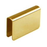 Strike Plate - 509 Polished Brass