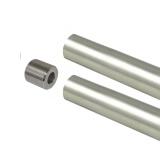 1-5/16 Steel Polished Chrome Tube - 8 Foot - Threaded With Plug