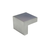 Aluminum Square Pull - DP49-DC Dull Chrome