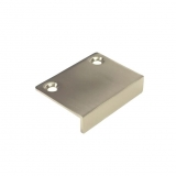 Zinc Edge Pull - DP48 Dull Chrome
