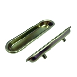 Zinc Recessed Pull - WP38-DC